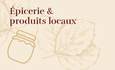 épicerie et produits locaux