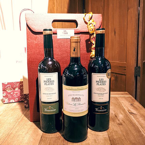 Découvrez le coffret autour du vin