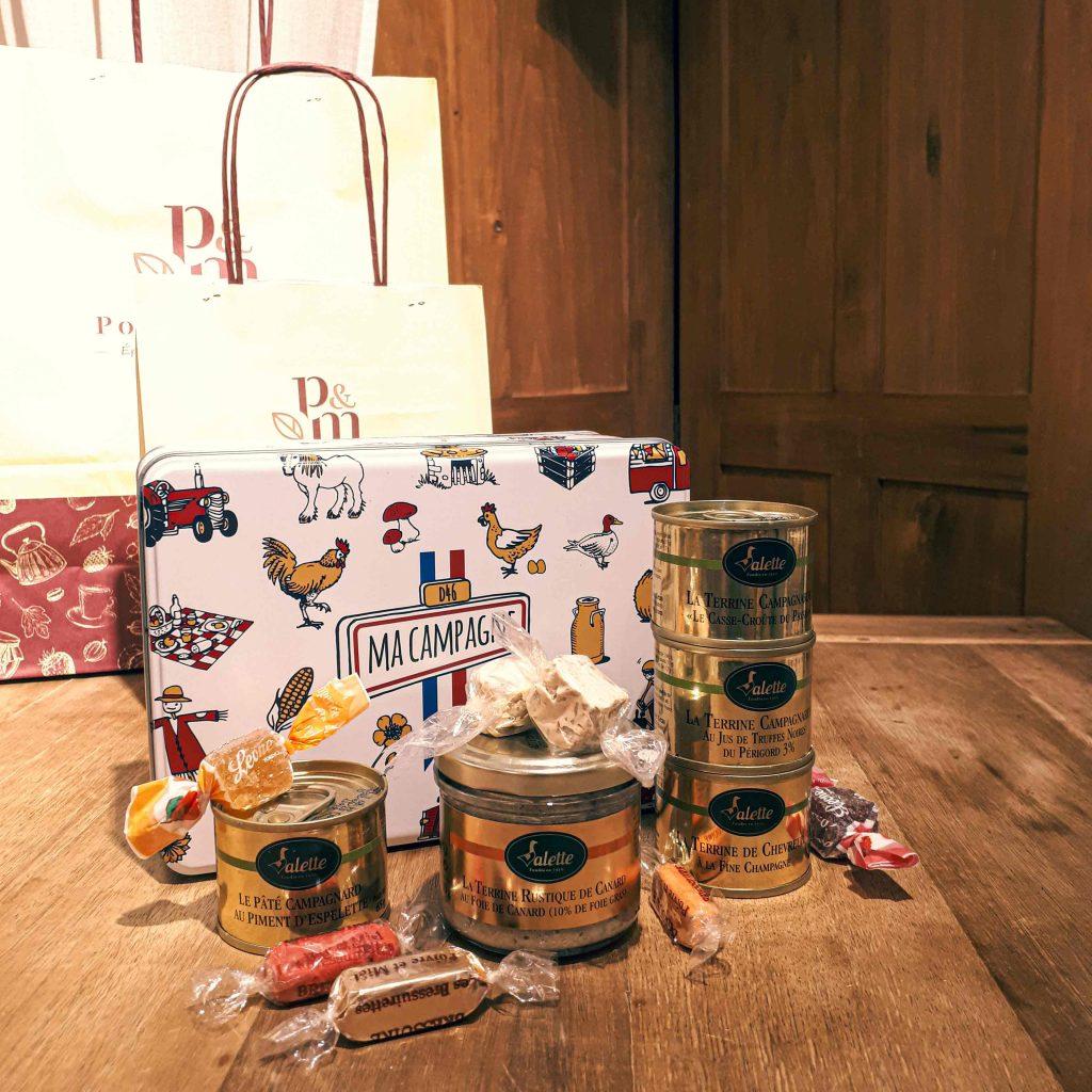 """Découvrez le coffret Boîte à sucre """"Ma Campagne"""", un produit Poivre & Miel."""